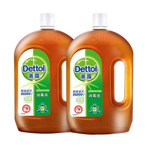 英国皇室御用品牌 滴露 杀菌消毒液 1.8L*2瓶 主图