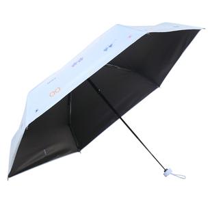 猫超 天堂伞缤纷假日5折内翻黑胶伞