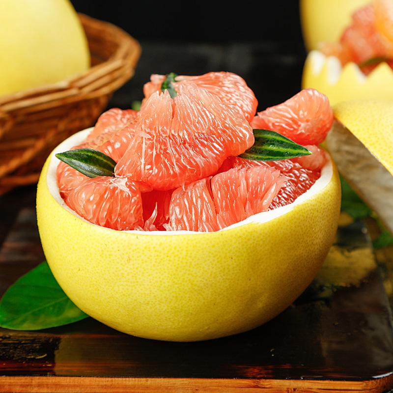 【红心柚】1粒装单果900g+新鲜水果颗粒饱满