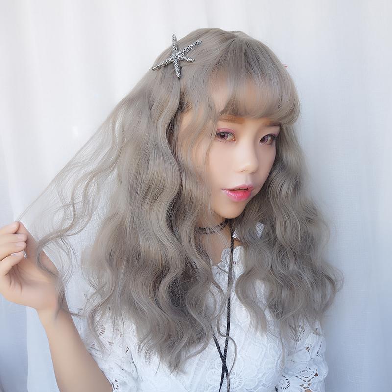 Usd 2671 Japanese Harajuku Wig Long Curly Hair Corns Long Wigs Air