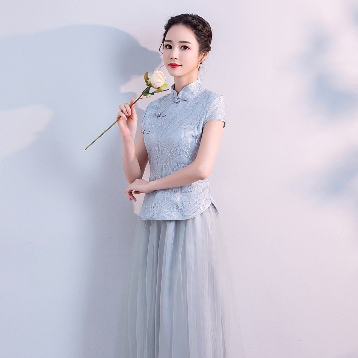 Bridesmaid dress Chinese style 2018 new Korean version of the ...