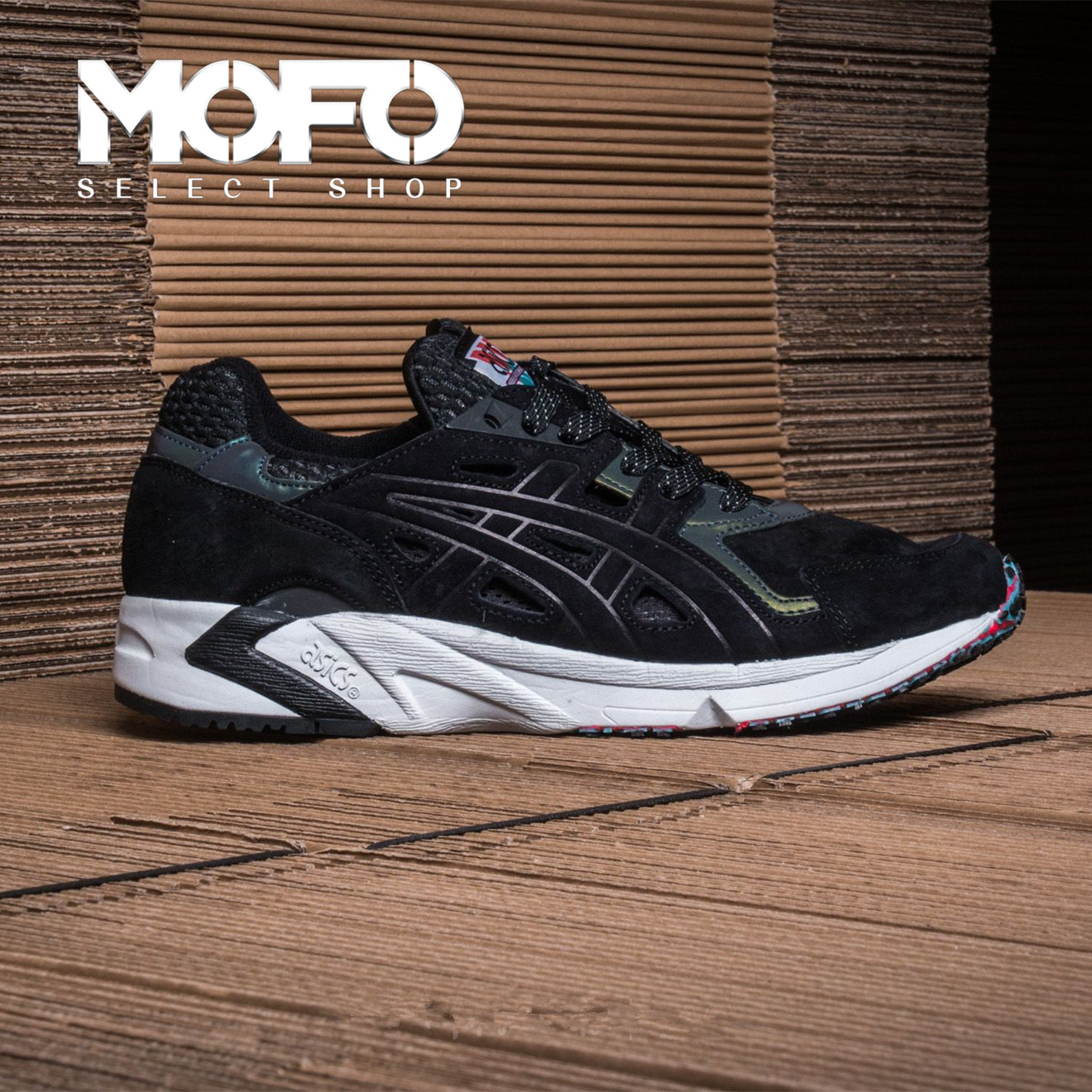 Asics GEL-DS Trainer OG Tiger Beetle H7P1L-9090 复古跑步鞋-SGshop c2a4077ad