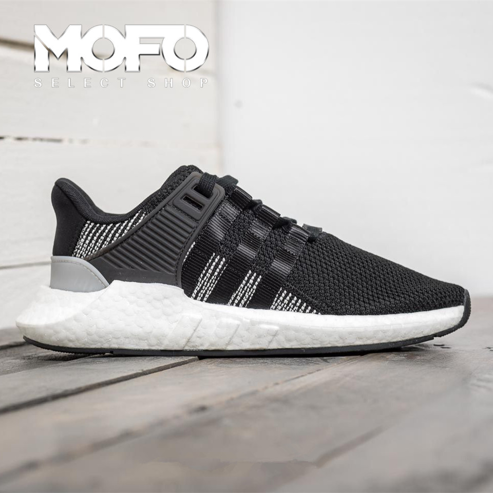 lower price with 44318 c979e Adidas EQT Support 9317 BOOST black and white BY9509 BZ0585 BZ0586 running  shoes