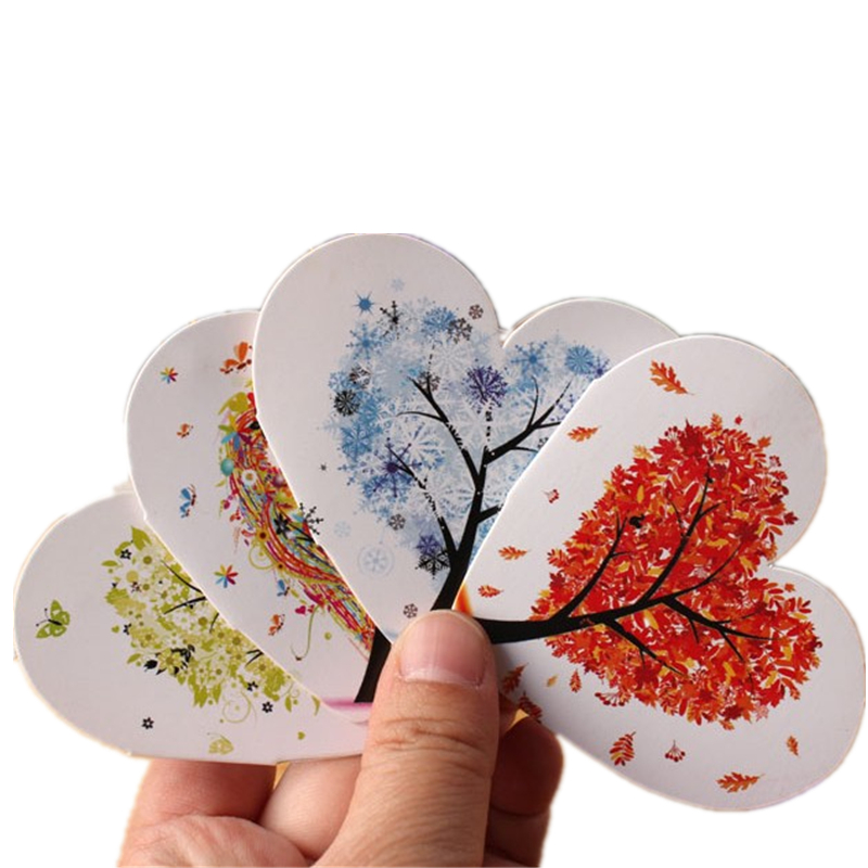 Korean creative heart shaped love small greeting card thanksgiving korean creative heart shaped love small greeting card thanksgiving christmas day universal card blessing wish message m4hsunfo
