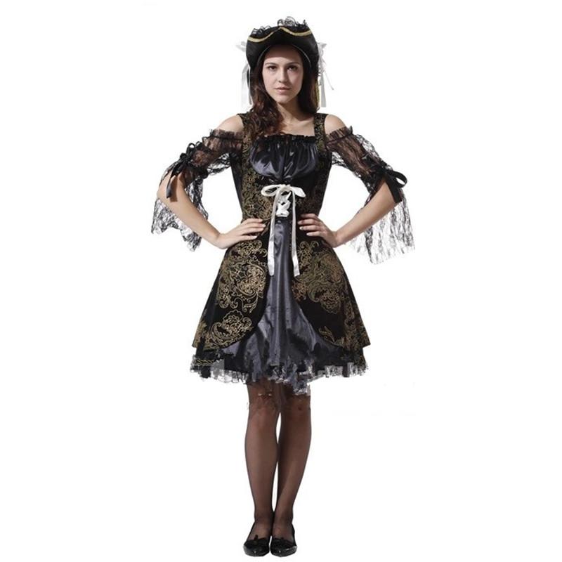 Женский костюм для косплея Qi County  COS Pirate