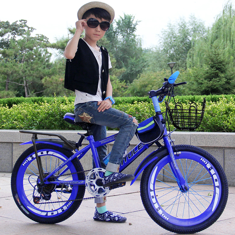 26ac1a1e2 Children's bike 6-7-8-9-10-11-12-year-old 15 stroller boy 20-inch primary  school bicycle mountain speed