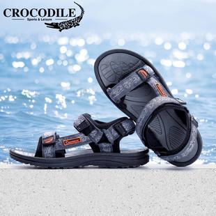 【鳄鱼恤】夏季男士运动凉鞋沙滩鞋