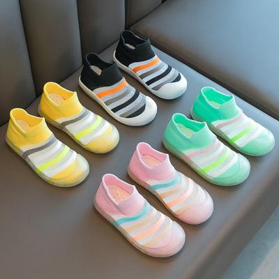 儿童单网鞋宝宝鞋2020夏季新款男童女童运动鞋透气网面小童时尚潮