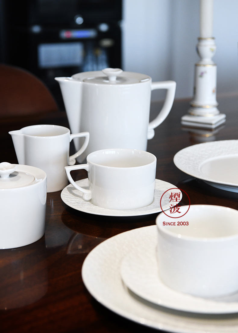German MEISSEN porcelain mason NO. 41 white pod 蒾 set of coffee cups and saucers tea set
