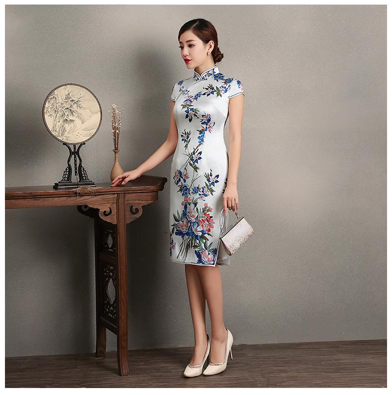 一件旗袍 万般风情(七) - 花雕美图苑 - 花雕美图苑