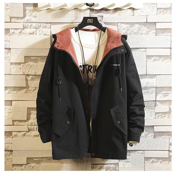 【有质检报告】秋季男新款青少年潮流夹克纯棉棒球服DS227TP70