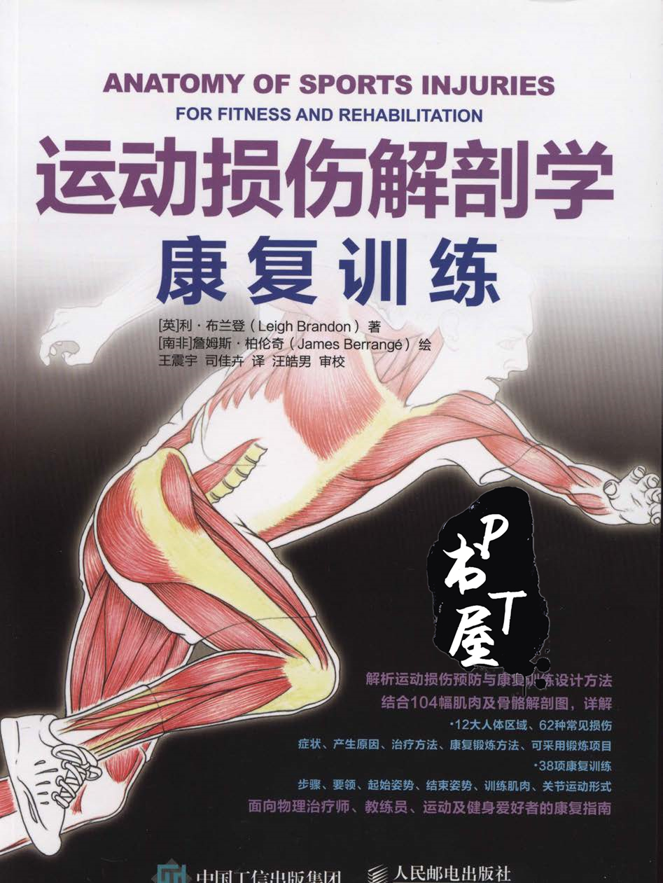 运动损伤解剖学康复训练 Book Cover