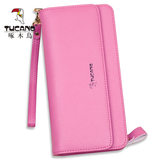 Woodpecker ladies wallet handbags female leather handbag Japanese and Korean girls big capacity long brand wallet genuine