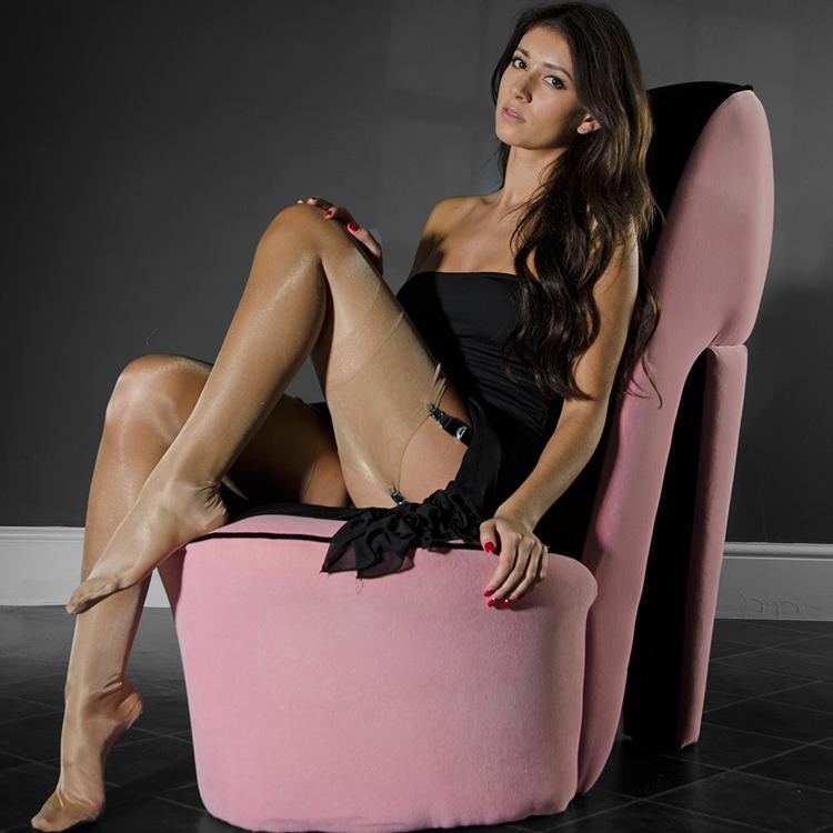f1ed33207 ... Venice Anna Eleganti Diamond diamond shiny oil bright silk non-stretch  pure nylon stockings