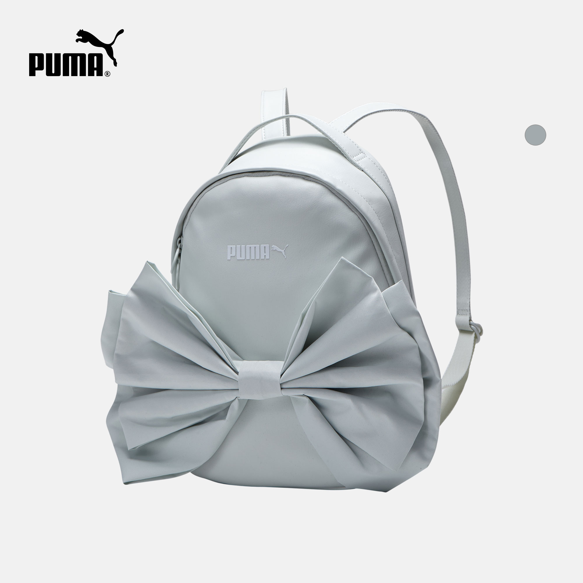 Puma Puma official Women s bow backpack Prime Archive 075616 402c7abebf7f7