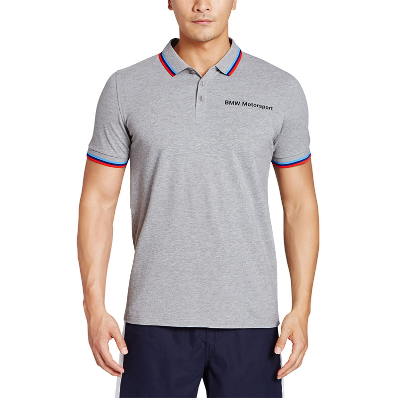 23291f4d43920e USD 107.24  Puma Puma official men s short sleeve Polo shirt BMW ...