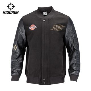 Standard sports cotton jacket logo men's autumn and winter fashion jacket basketball appearance clothing