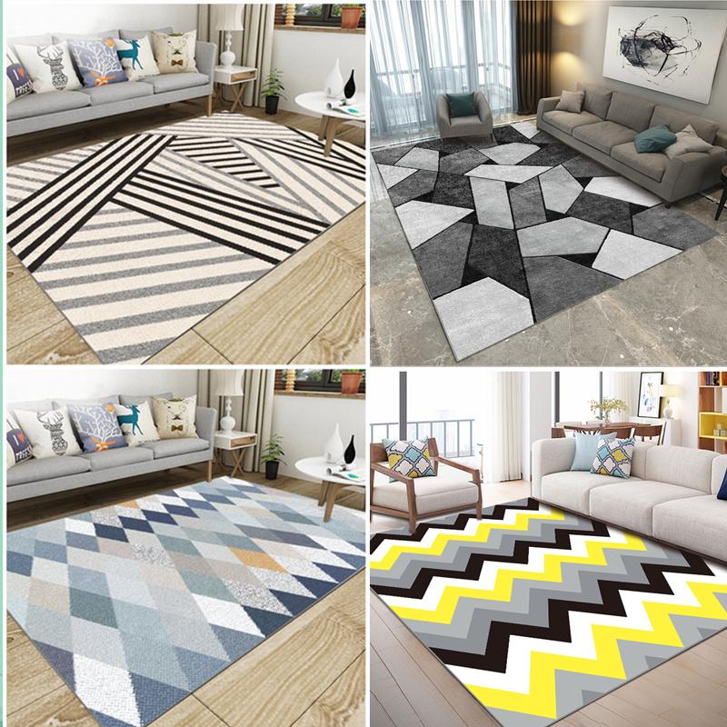 ins gió Bắc Âu thảm phòng khách bàn cà phê chăn hiện đại tối giản phòng ngủ đầy đủ đầu giường chăn diện tích lớn nhà - Thảm