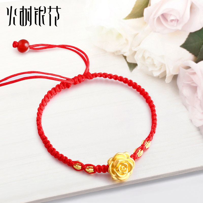 frank designs on vivien silk delicate red cord products bracelet silver gold