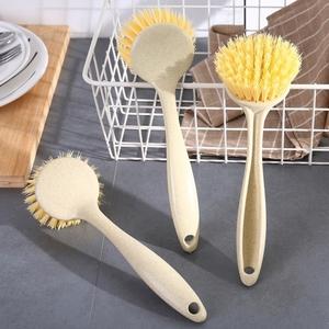 长柄厨房用刷锅神器洗碗刷子3个装