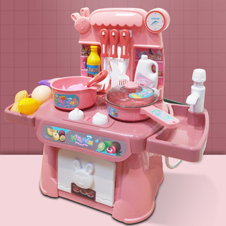 Children play house kitchen playsets boys and girls emulation cooking utensils to cook baby children 3-6 years old children