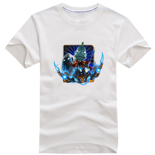 2019魔兽世界t恤我叫MT劣人圆领哀木涕MT衣服T恤短袖v圆领男装纯棉