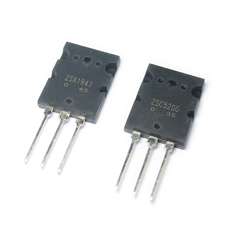 Toshiba 2SA1943//SC5200 one pair for high power amplifiers !