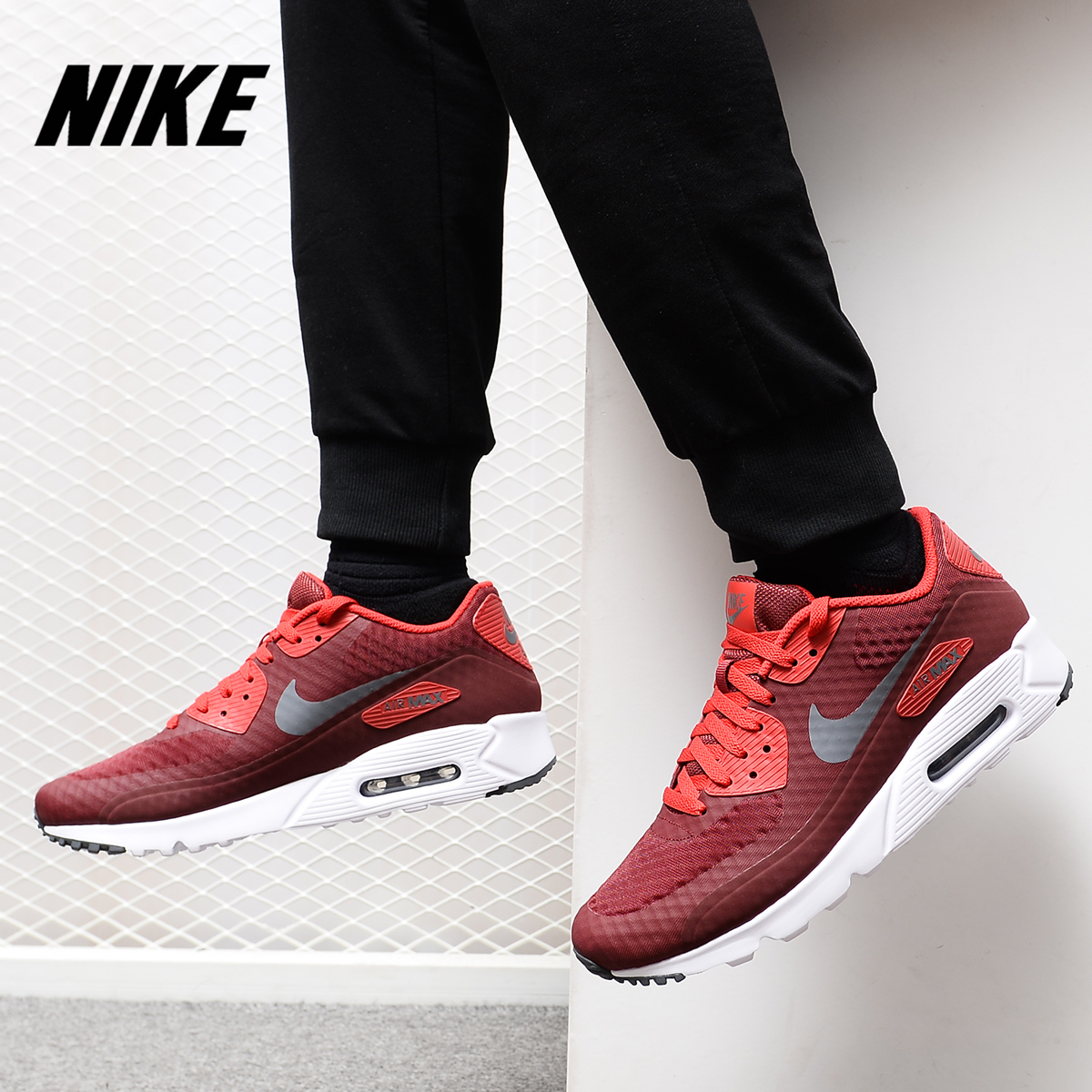 Nike/耐克正品2019新款 Air Max90 男子气垫休闲运动跑步鞋819474