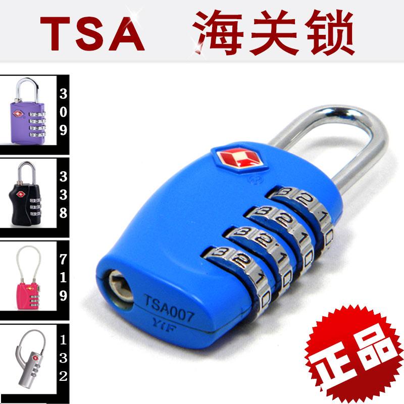 Подлинный хорошо мысль специальный хорошо официальный выдающийся 4 позиция багажник мешки шкаф пароль замок таможенные замок TSA-330-719-309