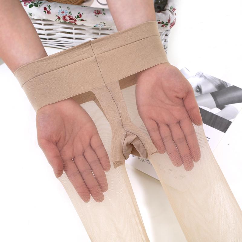 冰器塑形SK3D低腰无痕T裆透明连裤袜丝袜超薄防勾女袜美腿丝袜