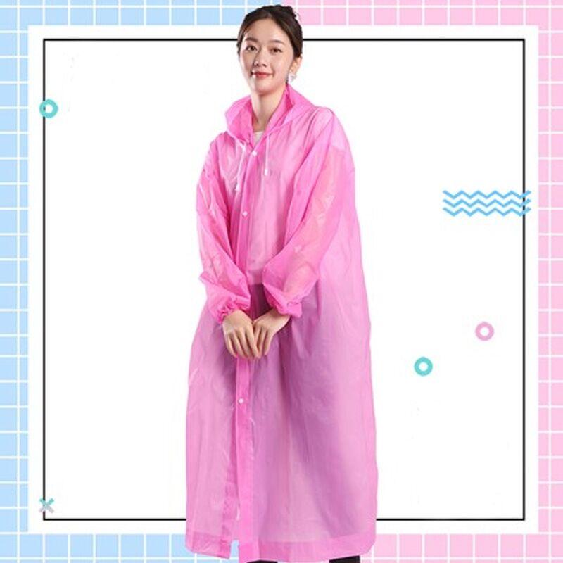 雨衣加厚男女透明成人儿童外套便携户外长款全身防暴雨一次性雨披