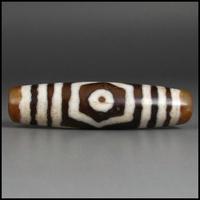 Тибетские трехмерные бусины бусины кулон ожерелье подвеска 57 * 14MM_B3151
