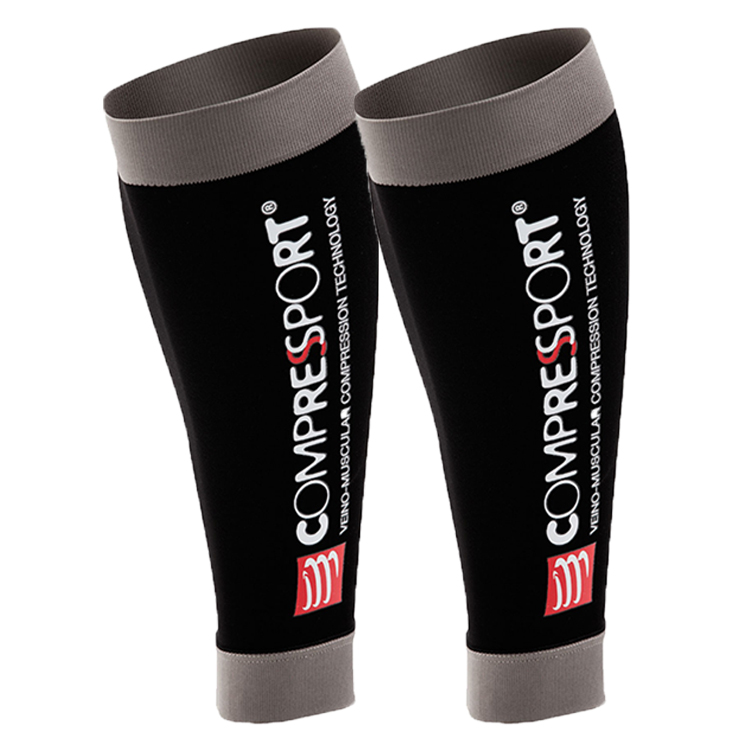 3925908dd58 Switzerland Compressport R2 functional compression calf sleeve running  riding iron three sports leggings knee pads