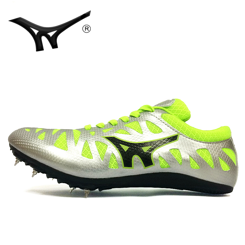 dd1de3962 Strong wind spikes men and women sprint track and field shoes professional  competition nail shoes students in the test sports running shoes training  shoes