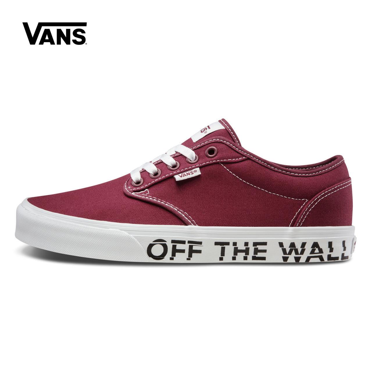 Vans/范斯春季酒男款帆布鞋 VN00015GQ1R/Q1S/R0M