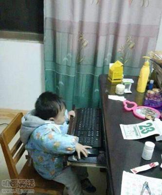 搞怪儿童图片上网