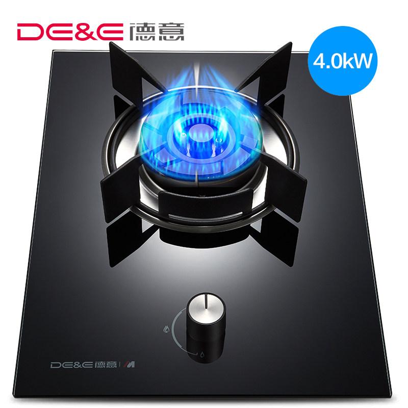 DE&E/德意 760D燃气灶煤气灶单灶液化气天然气单个家用