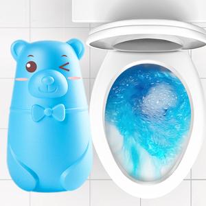洁厕灵家用卫生间冲厕所除臭蓝泡泡洁厕宝液清香型马桶清洗剂除垢