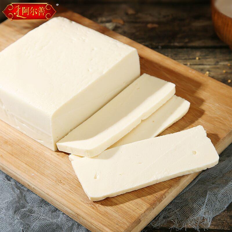 内蒙古奶豆腐250g脱脂低脂奶酪块即食生酮健身零食蓝旗特产奶制品