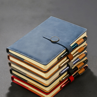 [Weimei] A5 classic soft leather notebook notebook notebook