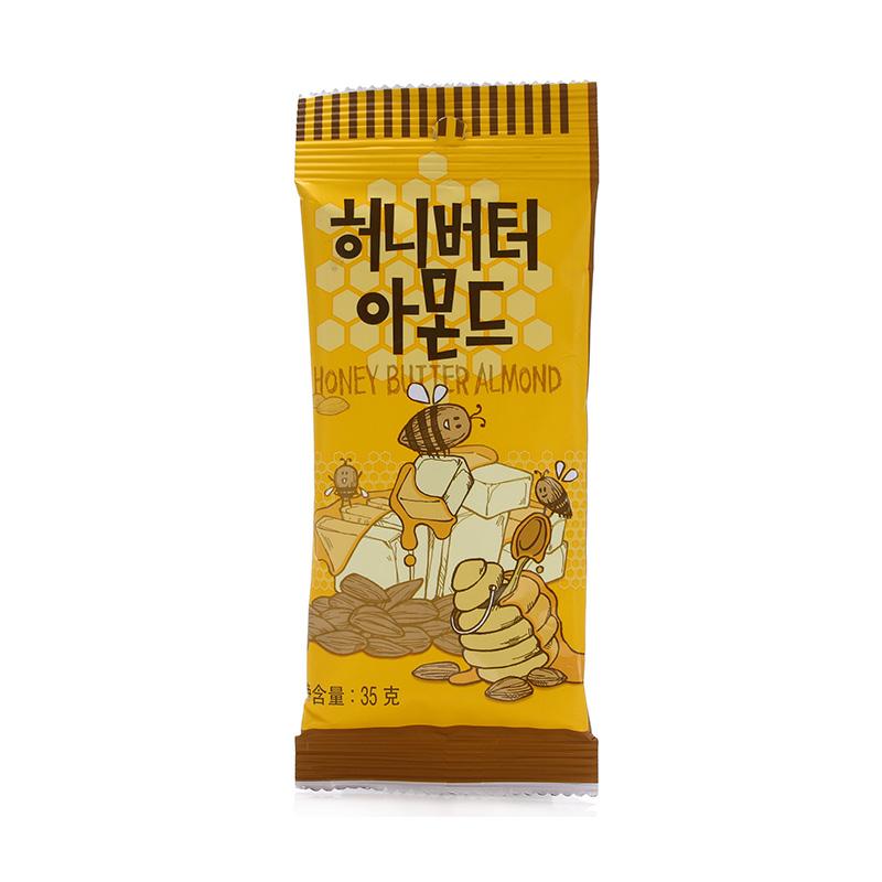 韩国进口蜂蜜黄油坚果零食9包