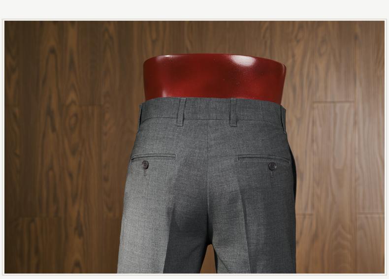 MBIN Mùa Hè England Slim Bốn mặt Stretch Casual Quần Suit Nam Kinh Doanh Miễn Phí Hot Feet Mỏng Quần