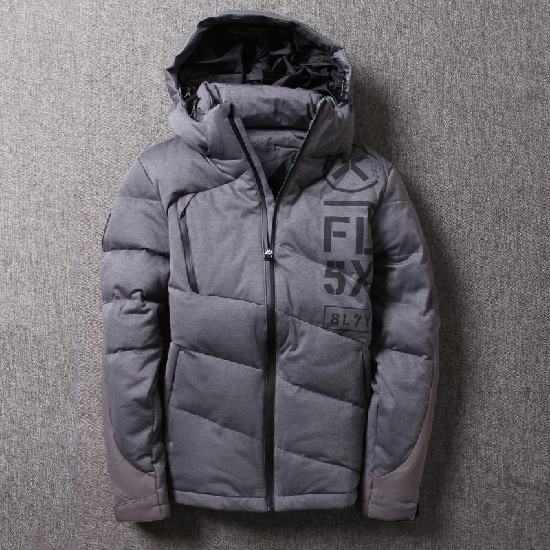 北欧户外抗寒a男士户外运动男士特价羽绒服v男士防风短款新款外套冷