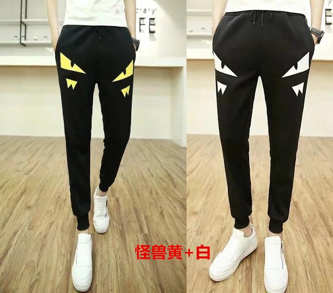 Mùa hè quần hậu cung của nam giới Hàn Quốc phiên bản của quần chân quần thể thao nam dài quần Slim chân quần âu quần Wei triều