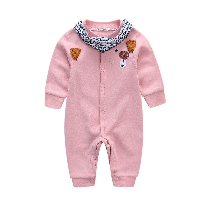 e08a53d111183 USD 11.44] Baby jumpsuit Korean version of cotton romper long ...