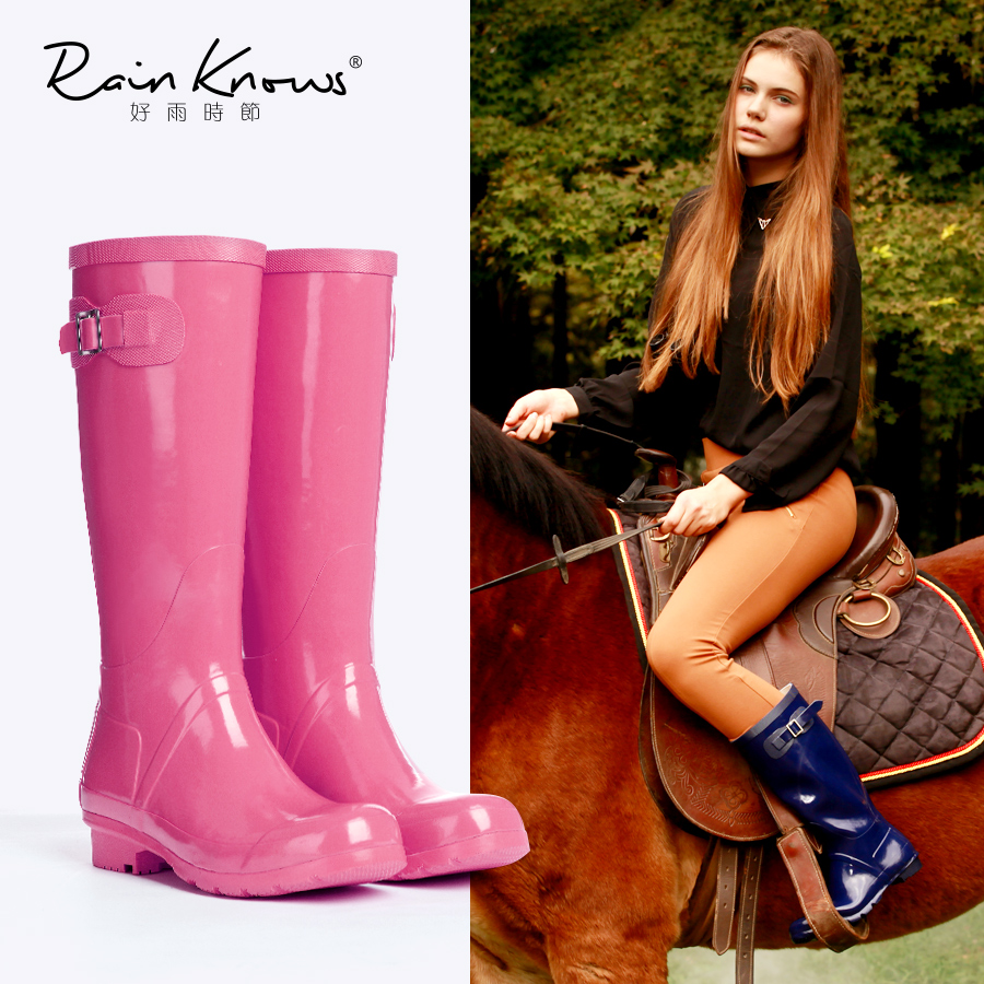 雨胶鞋价格_雨靴马靴女_马靴款雨靴_骑士马靴雨靴_ 雨靴高筒马靴 - 下午 ...