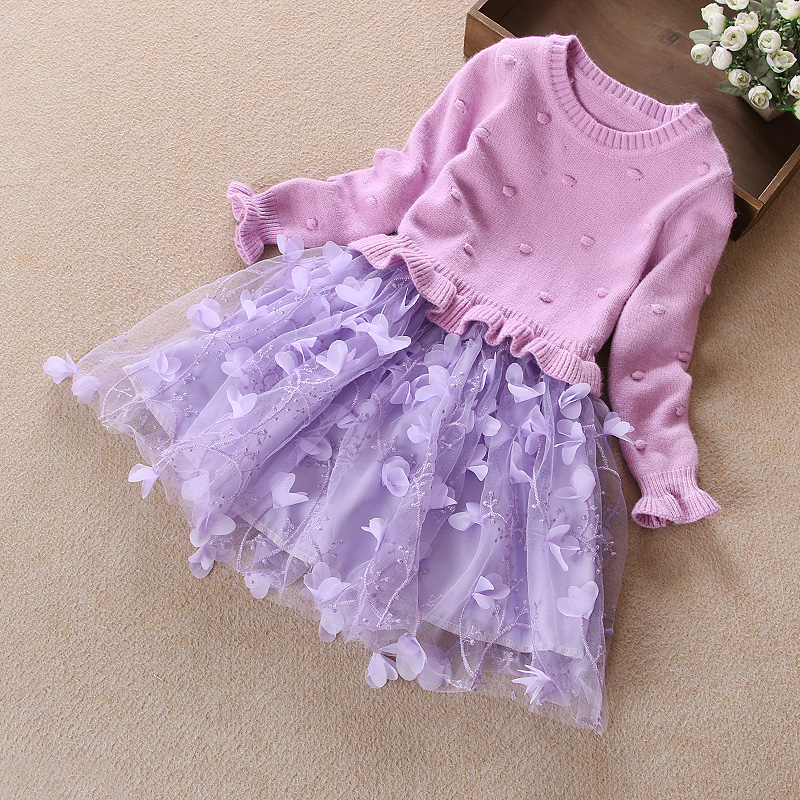 b5dfb0f1c USD 50.02  Children s clothing girls long-sleeved dress autumn and ...