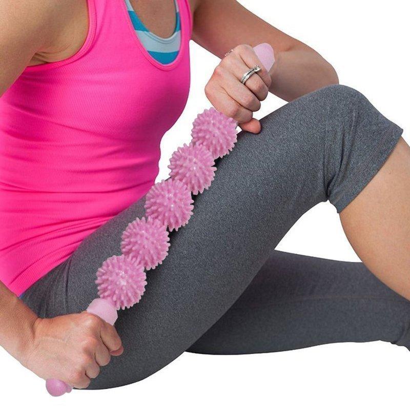Колесо йога вибраторы йога палка талия нога назад для похудения шейного позвонка массажеры массаж ось движение релиз свободный