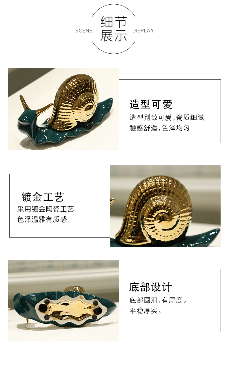 Q: Light European - style key-2 luxury ceramic bedroom decoration TV ark, the study place to live in the sitting room porch wine accessories
