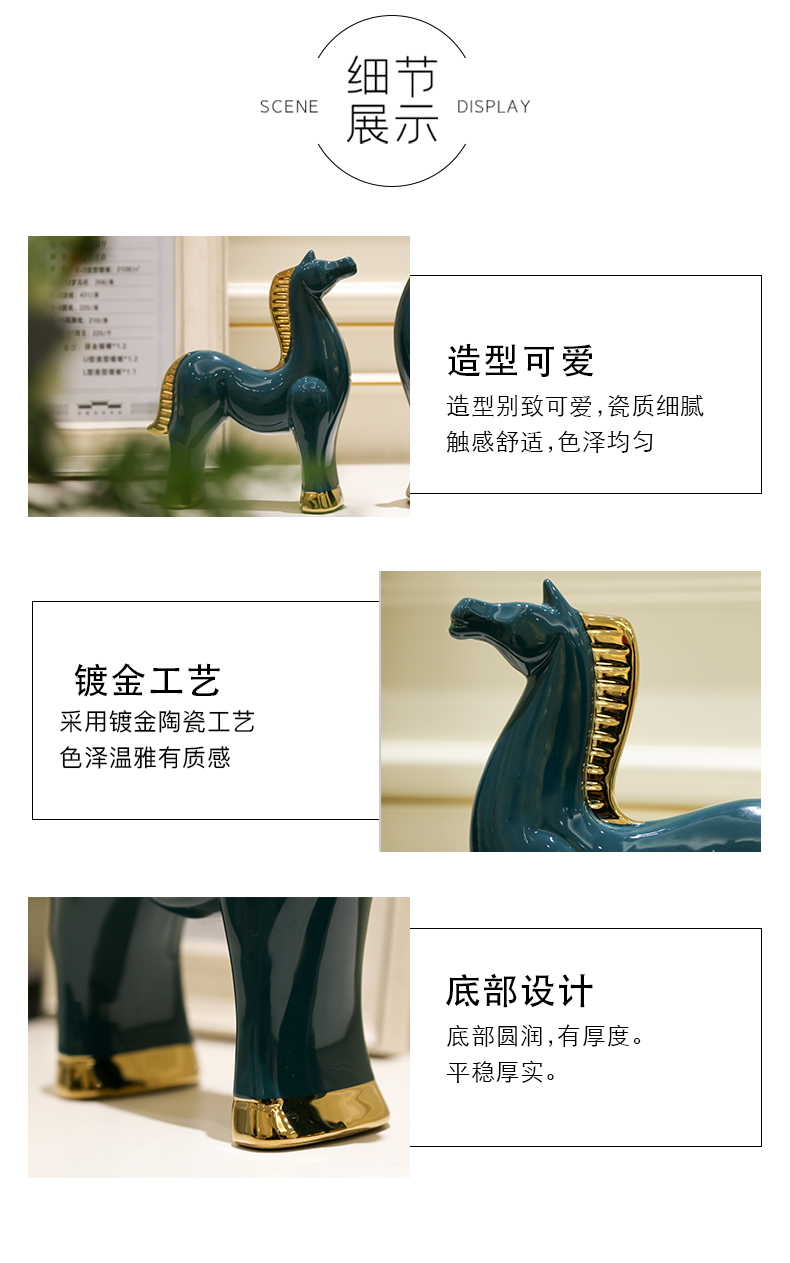 High - end furnishing articles success blessing moral living room TV ark of tea table office desktop ornaments